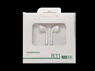 R11 OPPO zestaw słuchawkowy white box