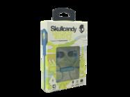 #S2PGFY-327 Skullcandy Smokin' Buds 2 zestaw słuchawkowy blue/lime retail