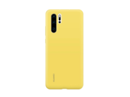 Silicone Case Huawei P30 yellow retail