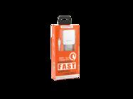 SMS-A12 Somostel ładowarka sieciowa + kabel lightning 3,1A QC 3,0 white box