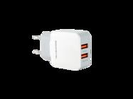 SMS-A13 Somostel ładowarka sieciowa + kabel lightning 2A 2xUSB white box