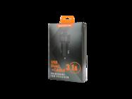 SMS-A15 Somostel ładowarka samochodowa 1A 2xUSB + kabel Typ-C 2,1A black box