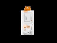 SMS-A52 Somostel ładowarka sieciowa + kabel microUSB 2A 2xUSB white box