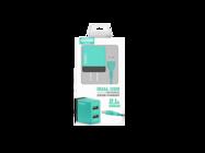 SMS-A53 Somostel ładowarka sieciowa + kabel microUSB 2A 2xUSB mint box