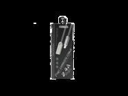 SMS-BJ01 Somostel kabel microUSB 2,4A QC 3,0 1M silver box