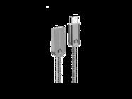 SMS-BJ01 Somostel kabel Typ-C 2,4A QC 3,0 1M silver box