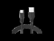 SMS-BT09 ECL Somostel kabel microUSB 3,1A QC 3,0 1M black box