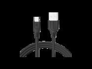 SMS-BT09 ECL Somostel kabel Typ-C 3,1A QC 3,0 1,2M black box