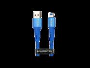SMS-BW06 Somostel kabel lightning 3,6A QC 3,0 1M blue box