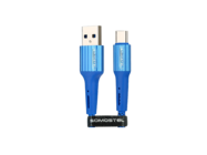 SMS-BW06 Somostel kabel Typ-C 3,6A QC 3,0 1M blue box
