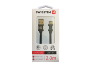 SWISSSTEN kabel USB-C 3.1 2m black retail