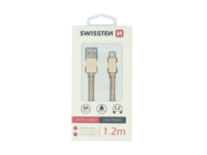 SWISSTEN kabel Lightning 1,2m gold box