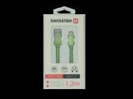 SWISSTEN kabel Lightning 1,2m green box