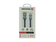 SWISSTEN kabel Lightning 1,2m grey box