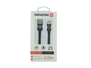 SWISSTEN kabel Lightning 2m black box