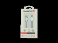 SWISSTEN Kabel Typ-C/Typ-C 1,2m silver retail