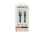 SWISSTEN kabel Type-C 1,2m black box