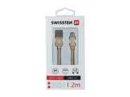 SWISSTEN kabel Type-C 1,2m gold box