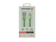 SWISSTEN kabel Type-C 1,2m green box