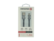 SWISSTEN kabel Type-C 1,2m grey box
