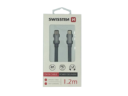 SWISSTEN Kabel USB-C/Lightning 1,2m grey retail