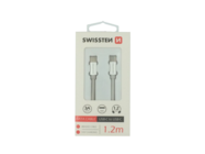 SWISSTEN Kabel USB-C/USB-C 1,2m silver retail