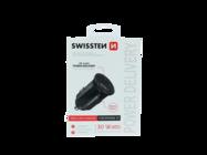 Swissten ładowarka samochodowa 20W IPHONE 12 black box