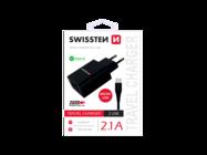 SWISSTEN ładowarka sieciowa 2x USB Smart IC black box + kabel Micro USB