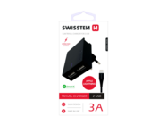 SWISSTEN ładowarka sieciowa 3A 2x USB Smart IC+ kabel microUSB blackbox