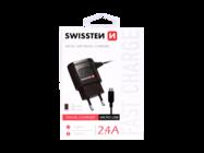 SWISSTEN ładowarka sieciowa black box + kabel Micro USB