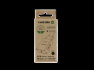 Swissten ładowarka sieciowa PD 25W IPHONE & SAMSUNG ECO PACK black box