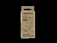 Swissten ładowarka sieciowa QC 3.0 23W 2x USB + USB ECO PACK white box
