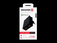 SWISSTEN ładowarka sieciowa QC 3.0 23Wblackbox