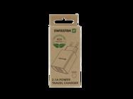 Swissten ładowarka sieciowa SMART IC 2x USB 2,1A ECO PACK white box