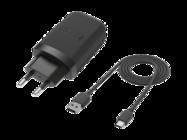 TC-P5000 HTC ładowarka sieciowa black + kabel typ-c 73H00621-00M bulk