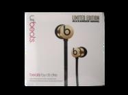 UrBeats zestaw słuchawkowy black gold limited box