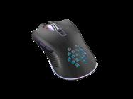 XO mysz przewodowa USB M3 Wolf RGB black box