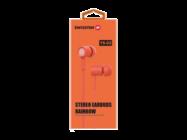 YS-D2 SWISSTEN zestaw słuchawkowy orange retail