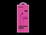 YS-D2 SWISSTEN zestaw słuchawkowy pink retail